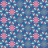 Abstrakta sömlösa mönster med cirklar — Stockvektor