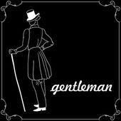 Stylish gentleman — Stock Vector