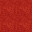 图库矢量图片: Seamless pattern with abstract swirls
