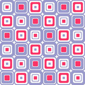 Colorful squares abstract seamless pattern — Stock Vector