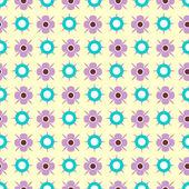 Cute childish seamless pattern design — Stock Vector
