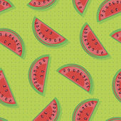 Watermelons — Stock Vector