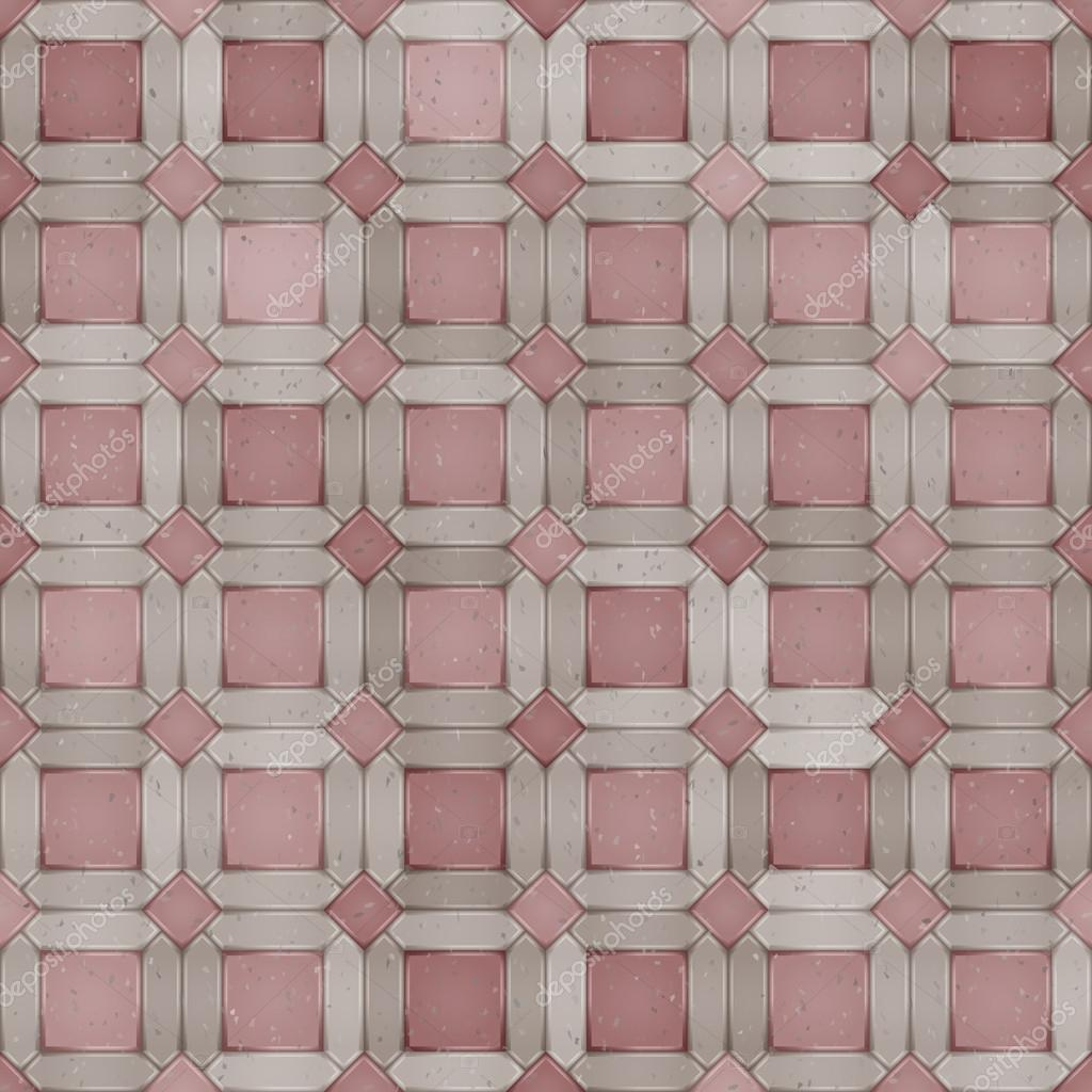 Pflaster nahtlose Muster. Pflasterstein Textur — Stockvektor #42290745