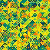 Geometric triangular pattern — Stock Vector