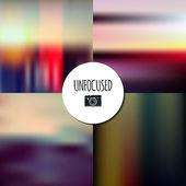 Unfocused landscape  backgrounds — Stock Vector