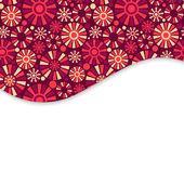 装飾的なカード — ストックベクタ