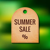 Summer sale badge — Stockvector