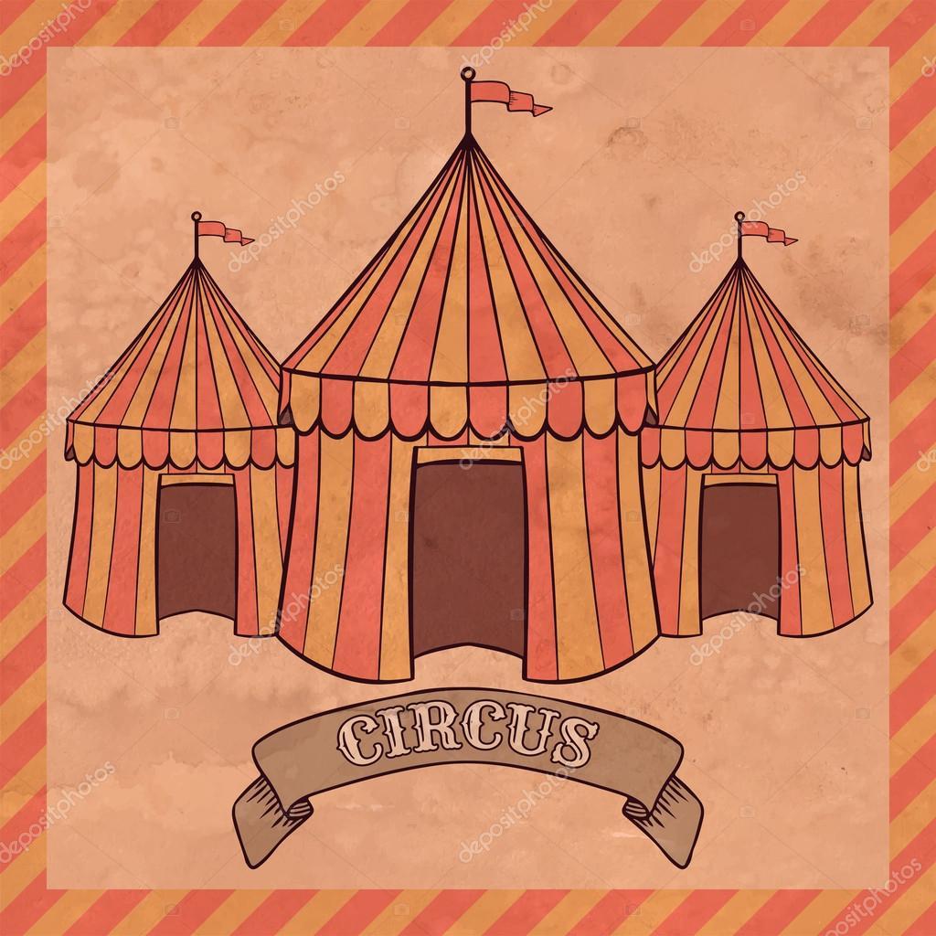 Resultado de imagen para carpa de circo ilustrador