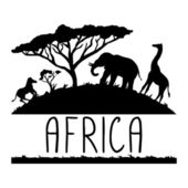 Africa illustration — Stock Vector