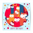 Birthday card — Stock Vector #49979599