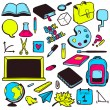 School elements set — Stock Vector #51161509
