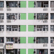 High density housing estate, Sha Tin, Hong Kong — Stock Photo