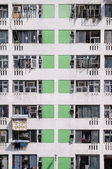 High density housing estate, Sha Tin, Hong Kong — Stock Photo