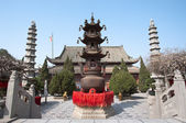 Temple of the Chief Minister, Kaifeng, China — Stock Photo
