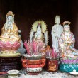 Постер, плакат: Statues of Asian Buddhist goddess Guanyin the Goddess of Mercy