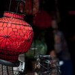 Souvenir Lantern at Panjiayuan Flea Market, Beijing — Stock Photo #41543941