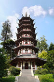 White Pagoda in Egret Island Park, Nanjing, China — Stock Photo