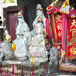 Постер, плакат: Street shrine for Guanyin the Goddess of Mercy in Hong Kong