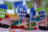 конфеты на день рождения — Стоковое фото