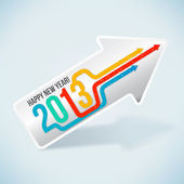 Happy New Year 2013! — Vector de stock