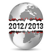 End of the World — Stock Vector