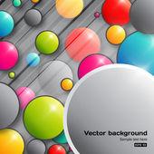 Colorful bubbles — Stock Vector