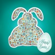 Happy Easter Card — Stock Vector #18895129