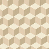 Abstract Cubes Background - Light Brown — Stock Photo