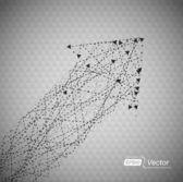 Arrows in Arrow — Stock Vector