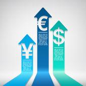 Augmentation de monnaie — Vecteur