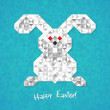 Stock vektor: Happy Easter!