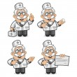 Royalty-Free Stock Vector Image: Doctor shows and tells