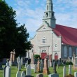 Old Church and Cemetery — Stock Photo