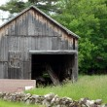 Old Wood Barn — Stock Photo