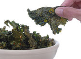 Kale Chips — Stock Photo