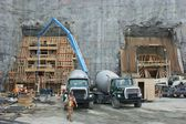 Hydroelectric power plant construction in north of Quebec, Canada (3) — Stock Photo