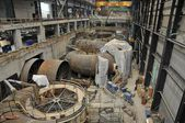 Hydroelectric power plant construction in north of Quebec, Canada (10) — Stock Photo