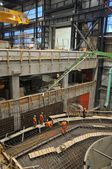 Hydroelectric power plant construction in north of Quebec, Canada (9) — Stock Photo