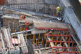 Hydroelectric power plant construction in north of Quebec, Canada (16) — Stock Photo