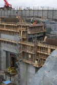 Hydroelectric power plant construction in north of Quebec, Canada (17) — Stock Photo