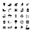 Ecology icons set — Stock Vector #22253561