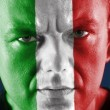 Italian supporter — Stock Photo