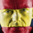 Spanish supporter — Stock Photo #19210489