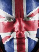 British supporter — Stock Photo