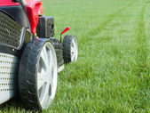 Grassmowergrassmower — Foto de Stock