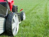 Grassmower — 图库照片