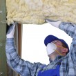 Stock Photo: Attic thermal insulation