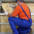 Thermal insulation work — Stock Photo #21424913