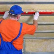 Stock Photo: Thermal insulation work