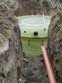 Biologické čistírny odpadních vod — Stock fotografie